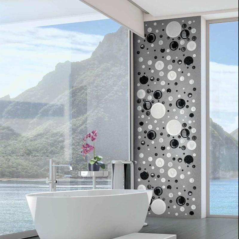 Bubbles Lurex Mosaic