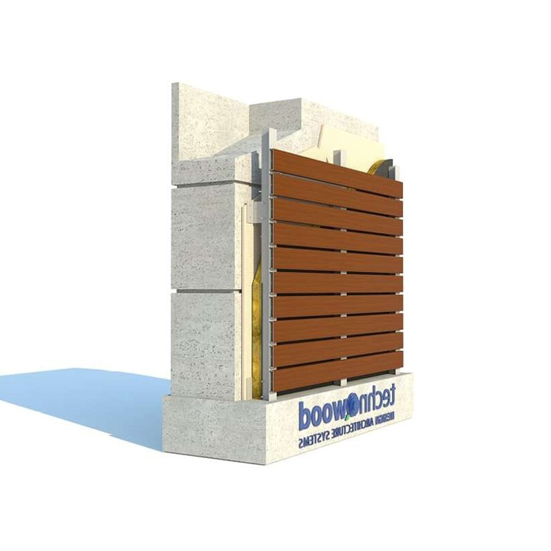 Click Facade System by Technowood