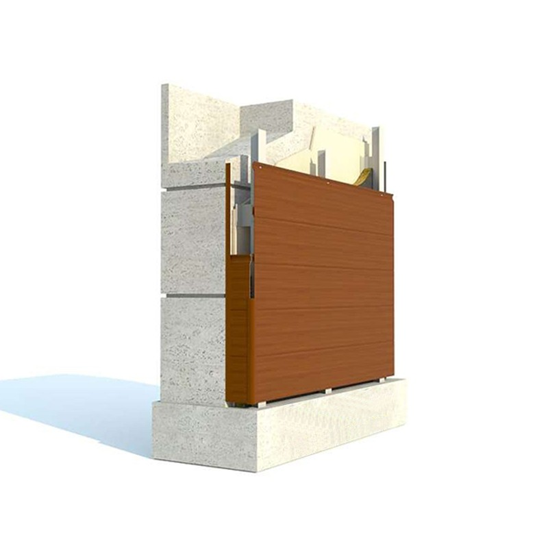 GRP Siding Facade System by Technowood