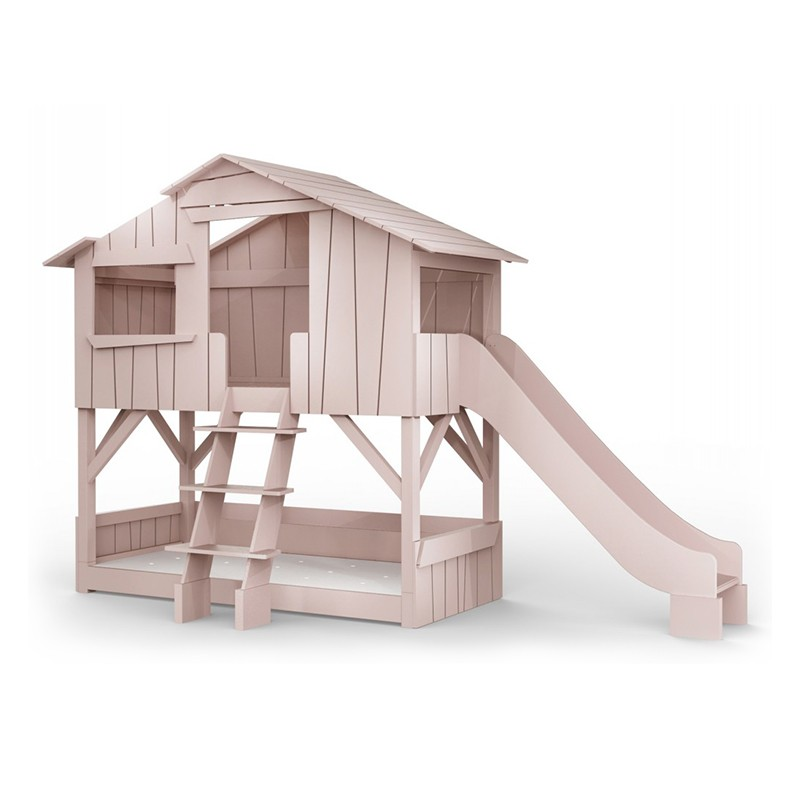 Threehouse Bunk Bed And Single Slide by Mathy by Bols