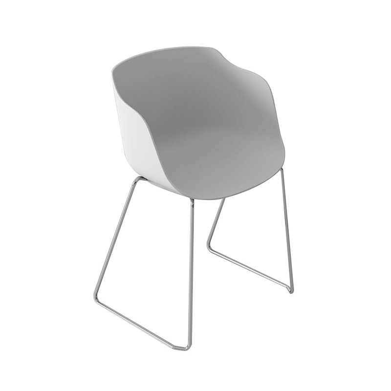 Armchair Version Steel Rod Frame D.12 Cafe Chairs