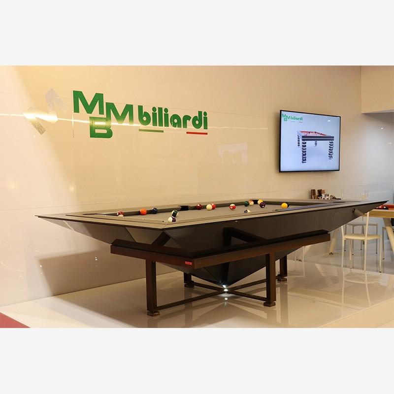 Black Diamond Billiard Table by MBM Biliardi