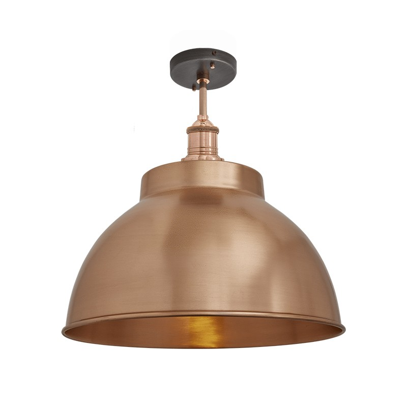 Brooklyn Dome Flush Mount by Industville