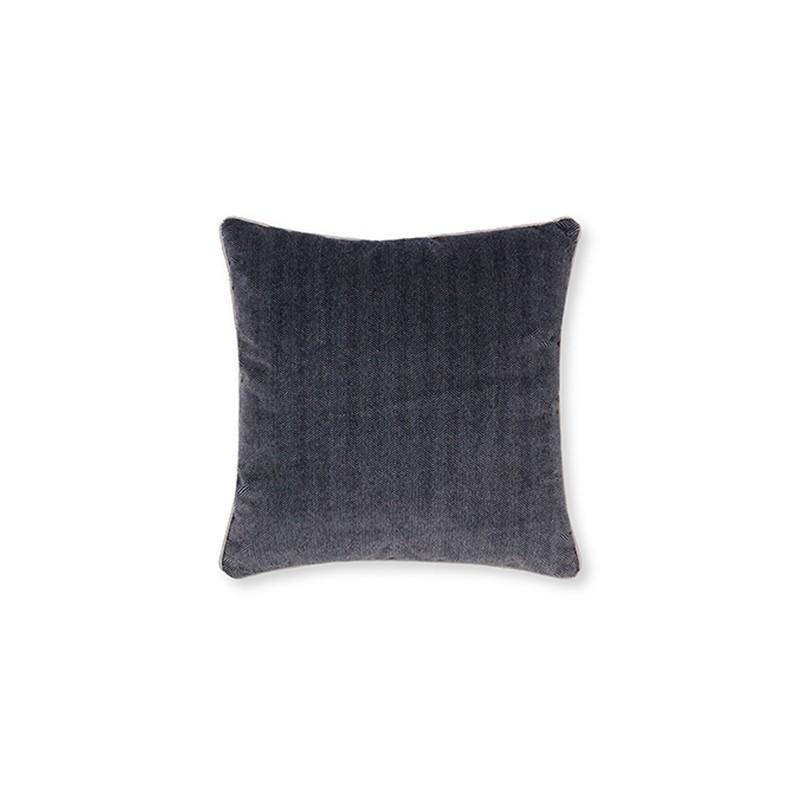 Coriolus Black Geometric Cushions