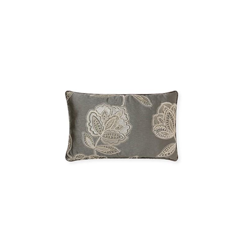 Flora Grey Classic Cushions