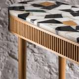Mausam Console Table by Kam Ce Kam